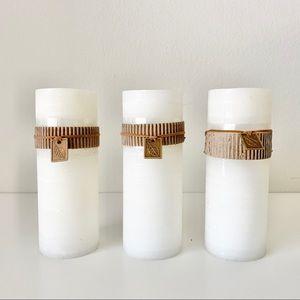 Set of 3 NWT Botanica Candles